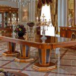 E38-2 long dining table L3.5M