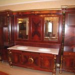 3002 Washbowl Cabinet 120x15.3x82.6