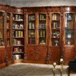LV-550   Combined Corner Bookcase   (33xW33xH91)    LV-553     Round Corner Bookcase    (22xW18xH91) LV-551-1  Combined 1/d Bookcase (21xW18xH91)