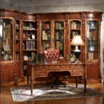 LV-550   Combined Corner Bookcase   (33xW33xH91)    LV-553     Round Corner Bookcase    (22xW18xH91) LV-551-1  Combined 1/d Bookcase (21xW18xH91) LV-570    Desk  (61xW31.5xH31)