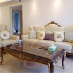 E70-1 Leather Sofa Set cream  3 seat sofa 90.6 x 36.6 x 49.6 2 seat sofa 65.7 x 36.6 x 49.2 1 seat sofa  45.3 x 36.6 x 46.9 Long Coffee Table: 57.1 x 31.5 x 18.9