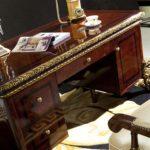 E-63 Study   Writing Desk  62.99x 31.49x 29.92 / 4 door bookcase 78.74x 18.7x90.55 /  Executive Chair 28.34x33.46x51.57