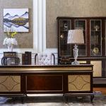 E71 Executive Desk  Desk 78.7Wx35.5Dx30.7H Bookcase 72.5Wx16.5Dx82.6H