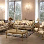 G-606 Sofa Set  3 seat 92.5x41x45 Love seat 69x43x47 Single chair 31.5x34x46 Coffee table 59x35x20.5