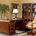 E10 writing desk & executive chair  Desk ,76.8x39.4x31.1,/ Bookcase 6 door   108.3x18.9x78.3, Executive Chair ,28.3x33.9x42.5