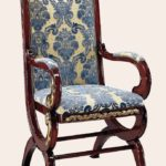 OP-920-1-R Arm Chair 23.6*27.5*46.4