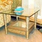 E16 End table  31.4Wx31.4Dx22.8H