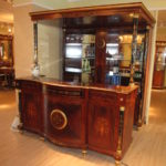 3002 Bar Cabinet 79.9W56.6Dx82.6H bar buffet 78.7Wx30.1Dx41.7H