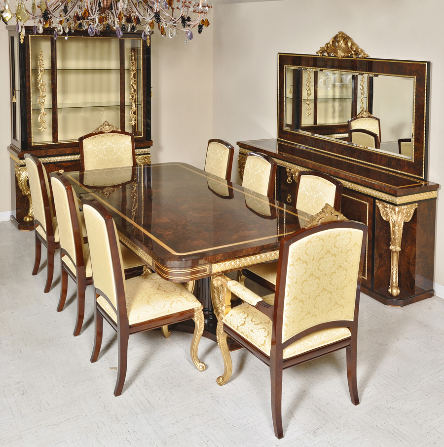 Superieur D11 Long Dining DINING TABLE 98 ½u201dL X 49u201dW X 31u201d