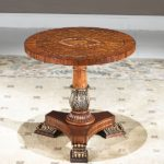 OP-635  Round Coffee Table        23.6xH22.8