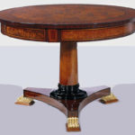 OP-639 Round Coffee Table 43.3DIA*29.9H