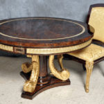 "D11 ROUND TABLE 70.8"" x 30.7or59"" x 30.7"""