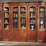 LV-552-2  COMBINED 2/D     BOOKCASE  (40xW18xH91)