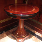 E68 small round table  25.59 x 25.59 x 26.77